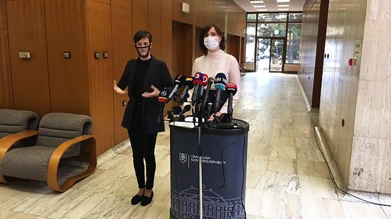 ZÁZNAM: Brífing podpredsedníčky vlády SR pre investície a informatizáciu Veroniky Remišovej