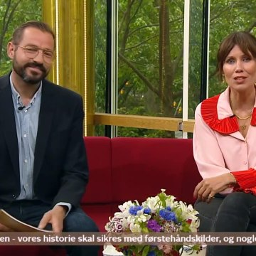 COVID-19; Skoleavis optaget på Nationalmuseet | Go Morgen Danmark | TV2 Danmark