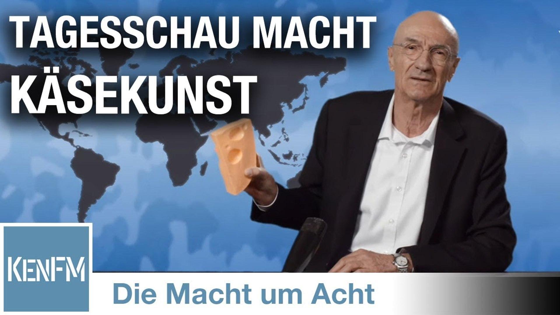 "Die Macht um Acht (53) ""Tagesschau übt Käsekunst aus."""