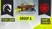Dota2 - Team Liquid vs. Gambit Esports - Game 1 - ESL One Birmingham 2020 - Group A - EU:CIS