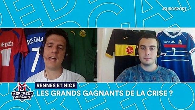 La crise n'enterrera pas tout le monde : Rennes et Nice, déjà grands gagnants du mercato ?