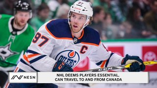 The NHL and Homeland Security Have Released a Statement Regarding Players Ability To Travel To and From Canada