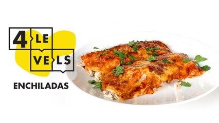 4 Levels of Enchiladas: Amateur to Food Scientist
