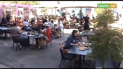 Luxembourg: « deux cafés en terrasse, s'il vous plaît »