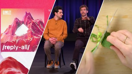 A 'Reply All' podcast, 'Middleditch & Schwartz,' and a how-to cooking series—our recommendations
