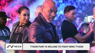 The Idea of Tyson Fury Fighting Mike Tyson May Not Be As Crazy As You Think