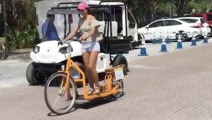 The Walking Bike