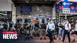 Hong Kong protests China's move to impose national security law despite U.S. warnings
