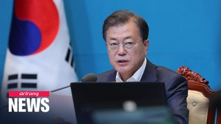 President Moon to meet with ruling, main opposition party floor leaders