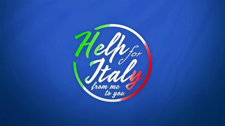 Help for Italy with Whoopi Goldberg, Ray Winstone, RJ Gibb, Tony Hadley and many, many more