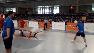Teqball : sport entre football et pingpong !