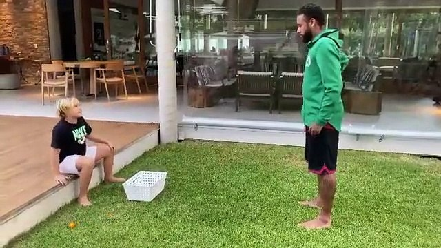 La blague énorme de Neymar à son fils