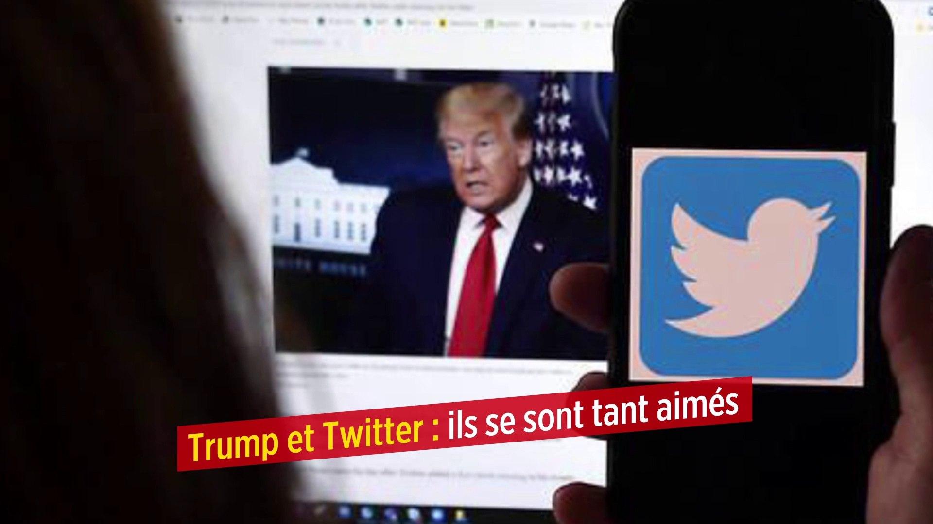 Trump et Twitter : ils se sont tant aimés