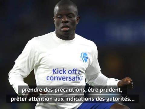 """Chelsea - """"Il faut faire preuve d'empathie avec Kanté"""" explique une psychologue"""