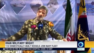 More than 100 domestically-built missile-launching speed boats join Iran's naval fleet