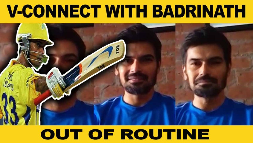 V-CONNECT WITH BADRINATH| OUT OF ROUTINE| PART-1| ONE INDIA TAMIL