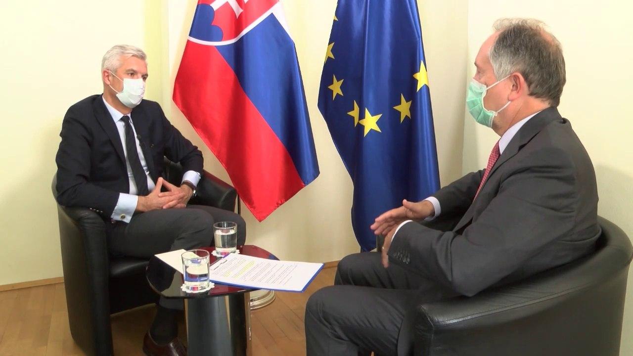 KORČOK: Zahraniční diplomati vyslovujú veľký rešpekt voči Slovenskej republike a jej vláde