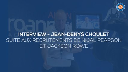 2020/21 Interview - Jean-Denys Choulet (Nijal Pearson/Jackson Rowe)