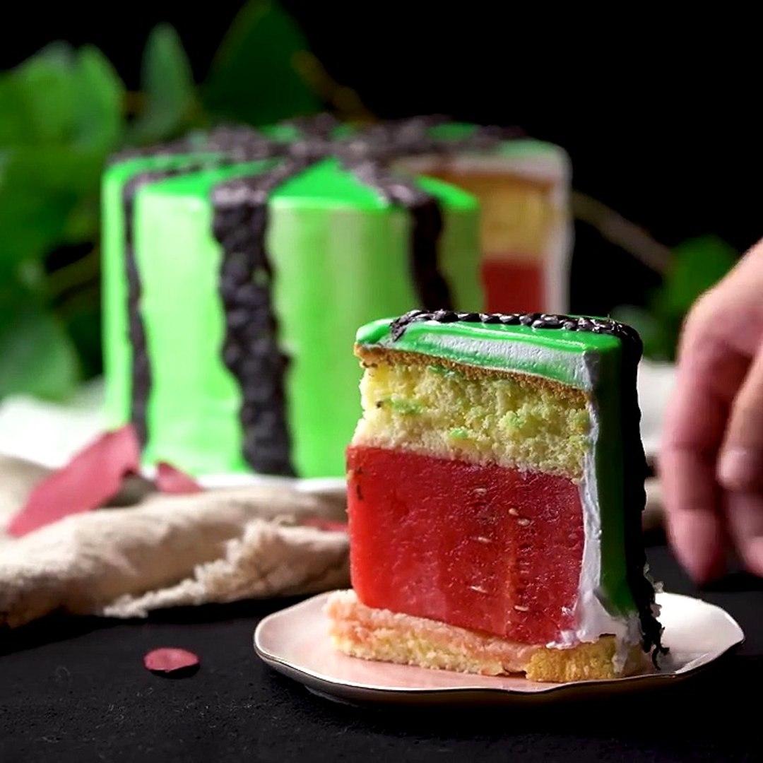 How To Make Cake Decorating - Satisfying Rainbow Cake Compilation - DIY Cake Hacks - Tasty Plus Cake