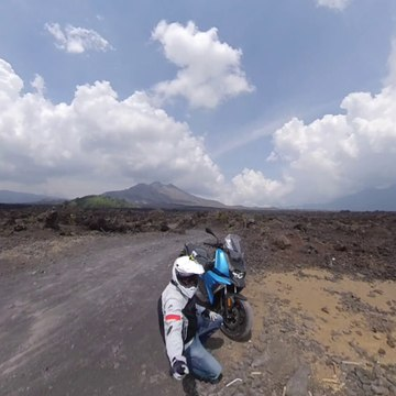 BMW C400X Review Test Ride Bali Indonesia