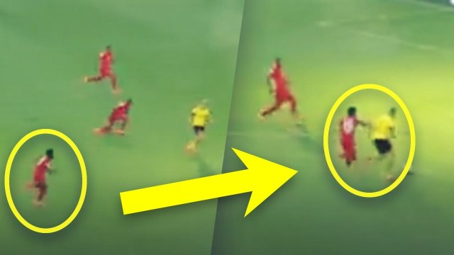 Le sprint PHENOMENAL d'Alphonso Davies pour rattraper Erling Haaland | Oh My Goal