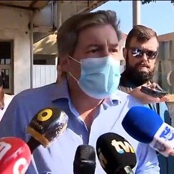 Bruno de Carvalho irritado com jornalistas à chegada do tribunal