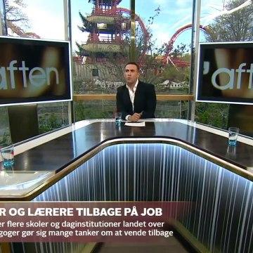 COVID-19; Skolelærere og pædagoger i coronakrisens frontlinjer | Go aften Live | TV2 Danmark