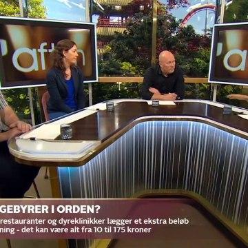 COVID-19; Er det fair, at forbrugerne skal betale coronagebyr | Go aften Live | TV2 Danmark