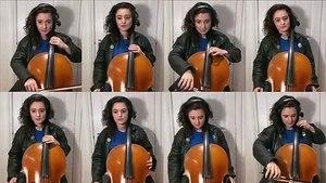 L'intro de K2000 avec 8 violoncelles mais une seule artiste