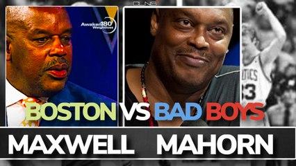 RICK MAHORN INTERVIEW: Bad Boy Pistons vs 80's Celtics with Cedric Maxwell
