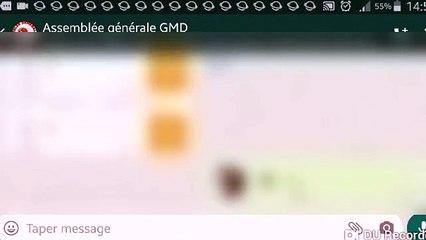 Idrissa DIA : créateur du groupe Whatsapp  AG GMD Whatsapp en action