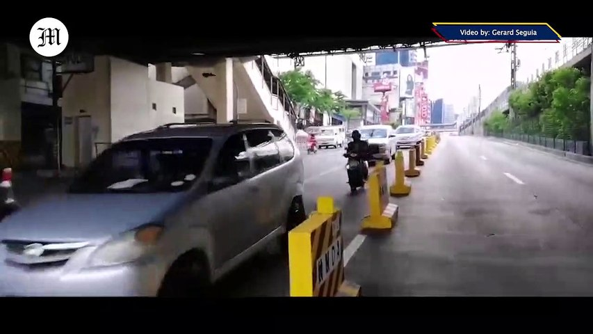 WATCH: MMDA prepares EDSA for GCQ