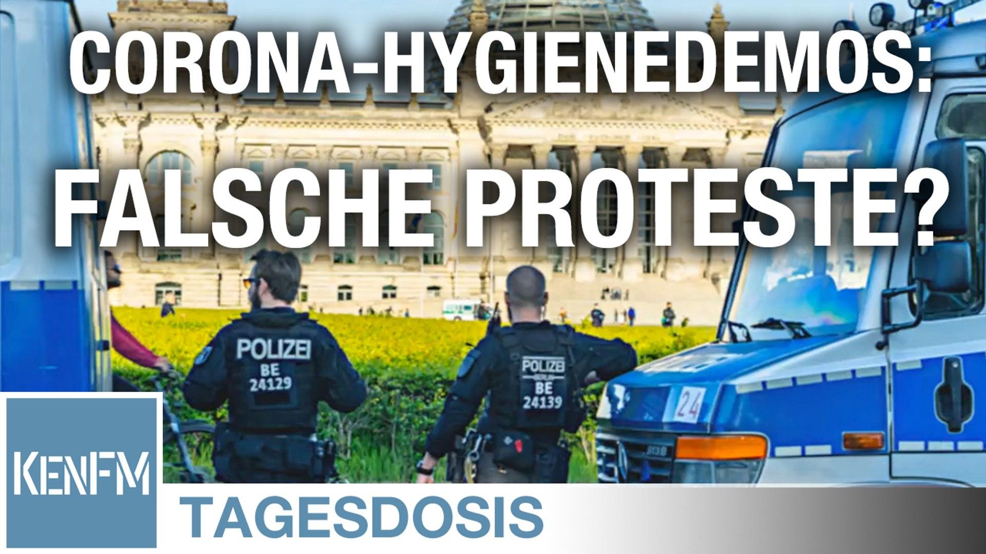 """Sind Corona-Hygienedemos """"die falschen Proteste?"""" - Tagesdosis 29.5.2020"""