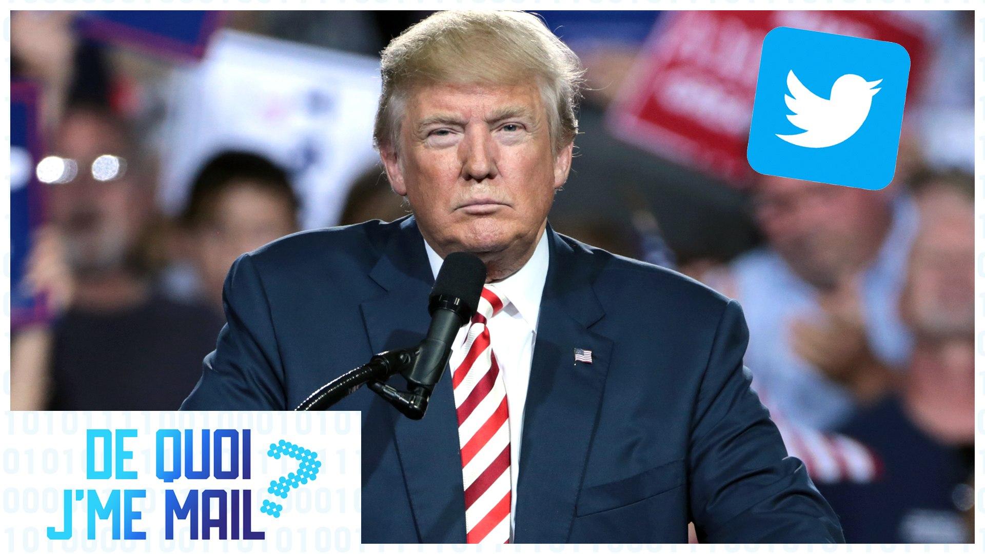 Donald Trump furax contre Twitter DQJMM (1/2)