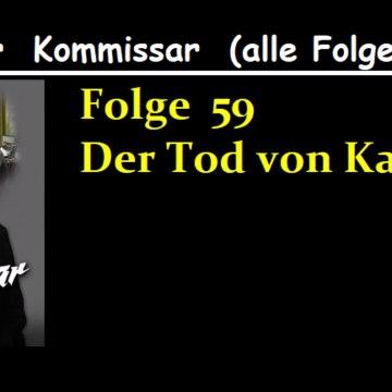 Der Kommissar (59) Der Tod von Karin W.