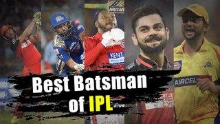 IPLನಲ್ಲಿ ಈವರೆಗೂ ಅತಿ ಹೆಚ್ಚು ರನ್ ಗಳಿಸಿದ ಬ್ಯಾಟ್ಸ್ಮನ್ ಯಾರು ? | Oneindia Kannada