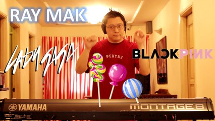 Lady Gaga, BLACKPINK - Sour Candy Piano by Ray Mak