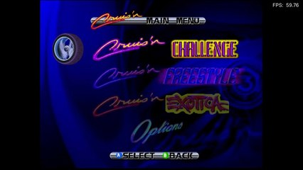 Cruis'n Exotica (2000) [N64] - RetroArch with paraLLEl (PC)