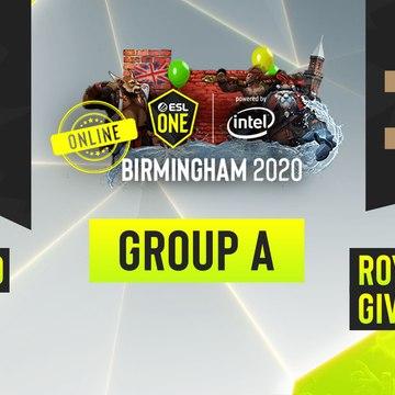 Dota2 - PSG.LGD vs. Royal Never Give Up - Game 1 - ESL One Birmingham 2020 - Group A - China