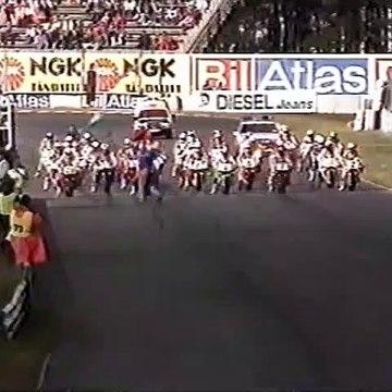 WSBK 1991 Round 07 - Anderstorp - Race 2 Highlights