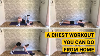 A Chest Workout You Can Do From Home