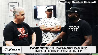 David Ortiz Explains How Manny Ramirez Impacted His Career