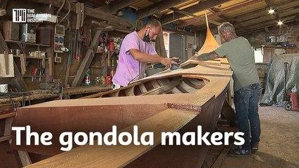 Livelihood threatened, gondola makers try to survive