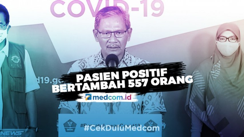 Update COVID-19 30 Mei 2020: Kasus Positif Bertambah 557 Pasien