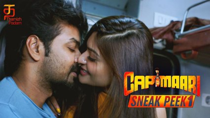Capmaari Tamil Movie #SneakPeek1   Jai   Athulya Ravi   Vaibhavi Shandilya   S A Chandrasekharan