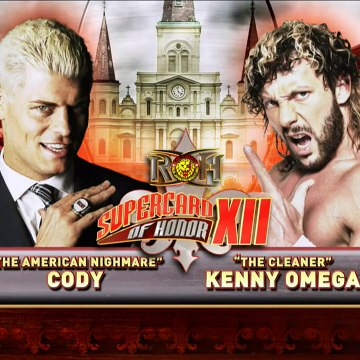 Kenny Omega vs Cody ROH Supercard of Honor XII (12) Full Match HD