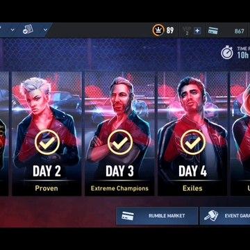 NFS No Limits Gameplay - Blackridge Rumble - Venom GT - Day 7 (Event 11 - 16)