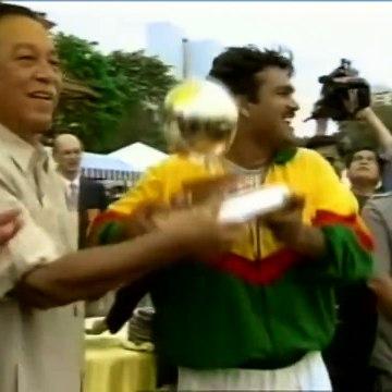 Akram Khan on 1997 ICC Trophy Winning Reception-1