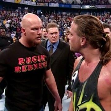 Stone Cold Steve Austin vs. Rob Van Dam vs. Kurt Angle (No Mercy 2001)