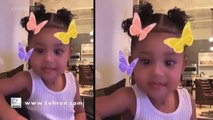 Stormi Gets SASSY With Kylie Jenner